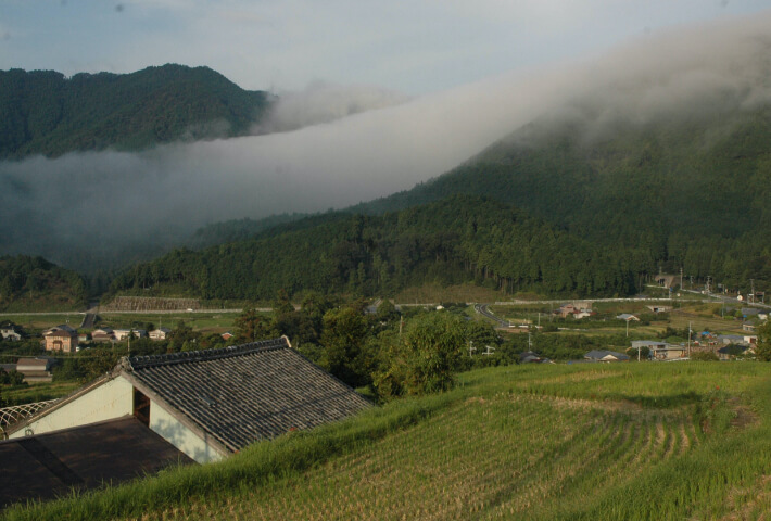 尾呂志周辺の景色